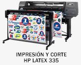 HP Latex y Printer Flatbed 335