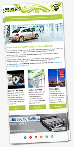 Newsletter Sinergia Visual